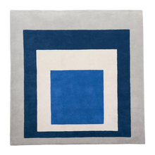 Load image into Gallery viewer, RUG / JOSEF ALBERS X CHRISTOPHER FARR - HOMAGE TO THE SQUARE 1962