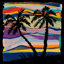Load image into Gallery viewer, JOSH SMITH SCARF - PALM TREE / MASSIF CENTRAL