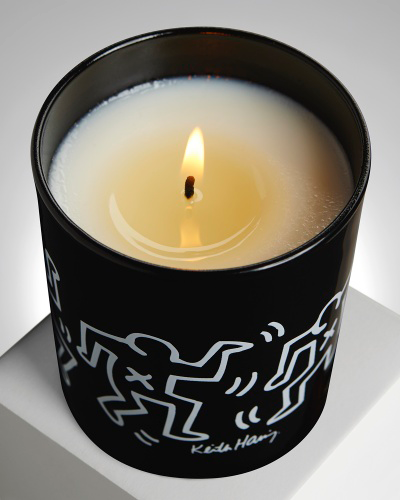 KEITH HARING BLACK & WHITE / ARTISANAL SCENTED CANDLE