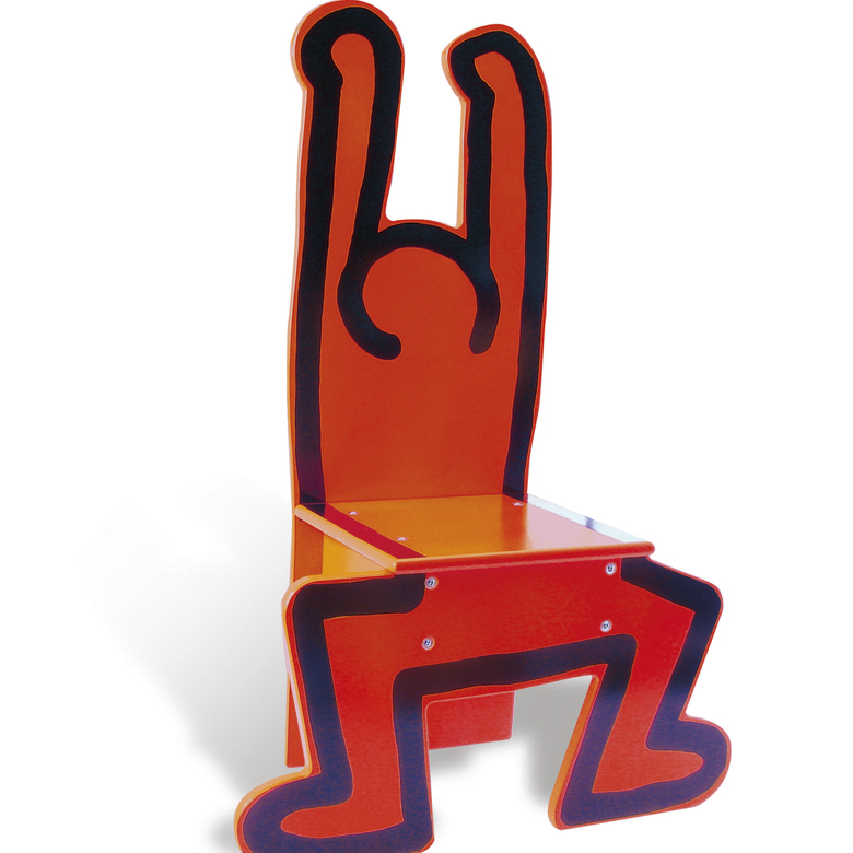 KEITH HARING - RED CHAIR / VILAC