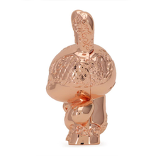 Load image into Gallery viewer, NEW MONEY METAL DUNNY - ROSE GOLD EDITION – TRISTAN EATON / KIDROBOT