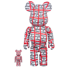 HAVE A GOOD TIME X BE@RBRICK SET 400% & 100% BY MEDICOM TOY