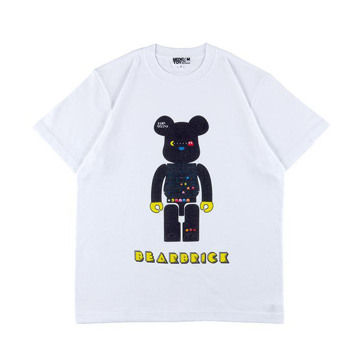 MLE BE@R TEE PAC-MAN / BEARBRICK