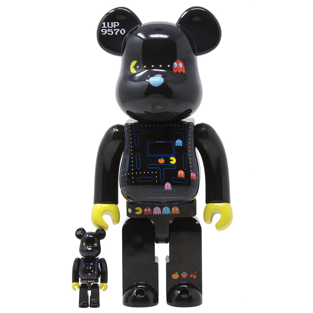 PAC MAN X BE@RBRICK 100/400% / MEDICOM TOY