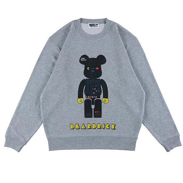 MLE PAC-MAN CREW NECK SWEAT / BE@RBRICK