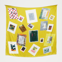 Load image into Gallery viewer, TED GAHL SCARF - POSTCARDS / MASSIF CENTRAL