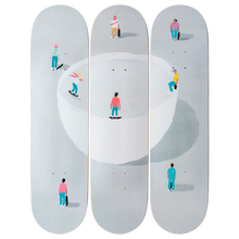 JEAN JULLIEN X SKATERROOM - BOWL / SIGNED LIMITED DECK