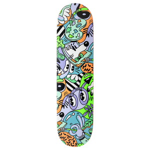 STEVEN HARRINGTON X SKATERROOM - ANXIETY / SIGNED LIMITED DECK