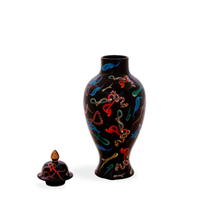 Load image into Gallery viewer, TOILETPAPER CERAMIC SNAKE VASE / SELETTI