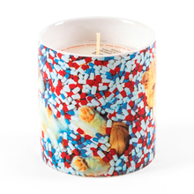 Load image into Gallery viewer, TOILETPAPER SCENTED CANDLE - CATS & PILLS / SELETTI