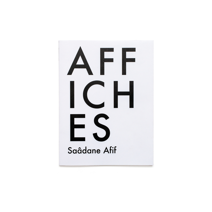 SAÂDANE AFIF - AFFICHES / TRIANGLE BOOKS