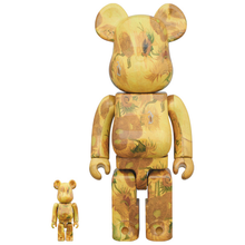 Load image into Gallery viewer, vincent_van_gogh-bearbrick_set-medicom_toy-eye_shut_island-designshop_stockholm