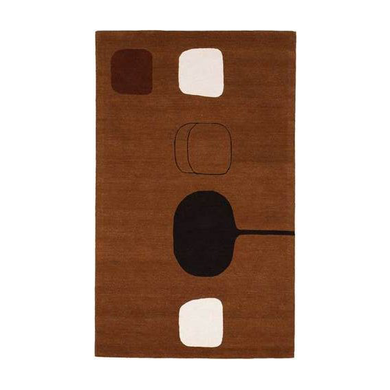 RUG / WILLIAM SCOTT X CHRISTOPHER FARR - PERMUTATION BROWN