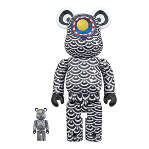 YASUTO SASADA X BE@RBRICK GROUND Y -  400&100% / MEDICOM TOY PLUS EXCLUSIVE