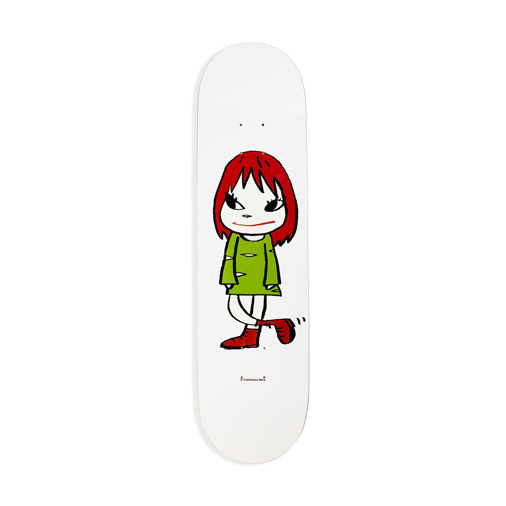 YOSHITOMO NARA SKATEBOARD - WELCOME GIRL