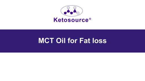 MCT Oil for Fat Loss