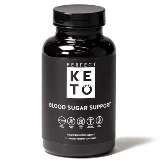Perfect Keto Blood Sugar Support Capsules