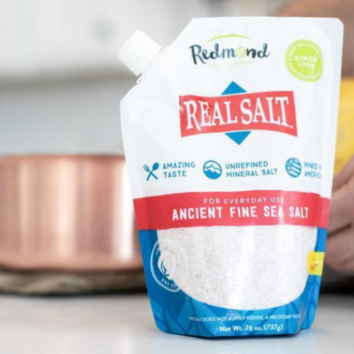 Redmonds Real Salt Refill Pouch