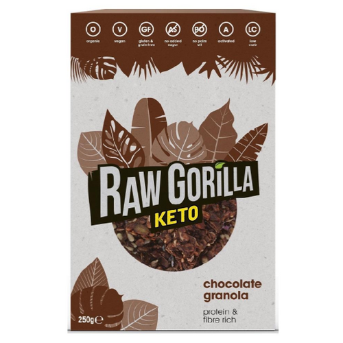 Raw Gorilla Keto Chocolate Granola