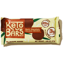 Keto Bars - Dark Chocolate Coconut Almond (Box of 10)