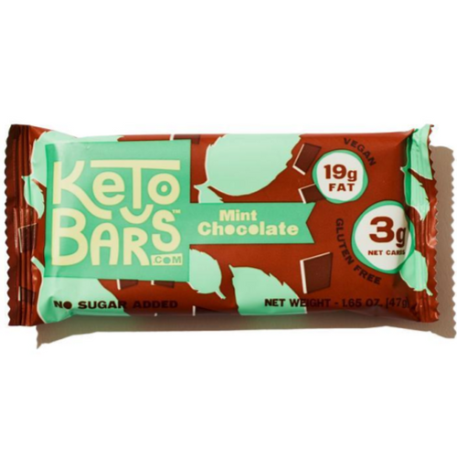 Keto Bars - Chocolate Mint (Box of 10)