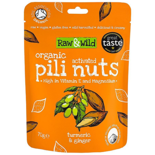 Raw & Wild Activated Pili Nuts