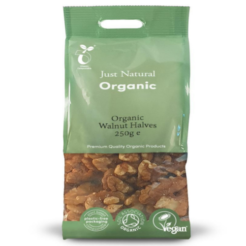 Just Natural Organic Walnut Halves