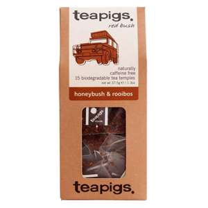 Teapigs Honeybush & Rooibos 15 tea temples
