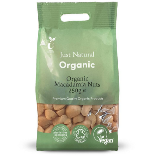 Just Natural Organic Macadamia Nuts