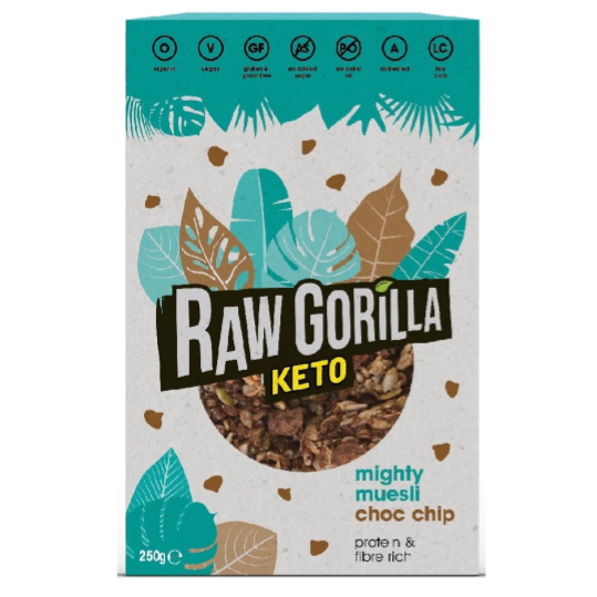 Raw Gorilla Keto Mighty Muesli 250g