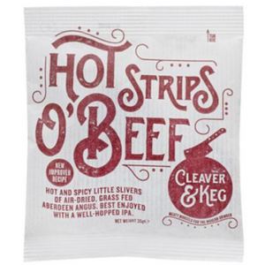 Cleaver & Keg - Strips O' Beef (Box of 8)