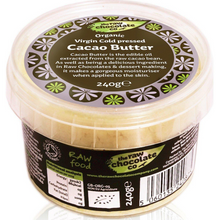 Raw Chocolate Organic Virgin Cacao Butter 240 g
