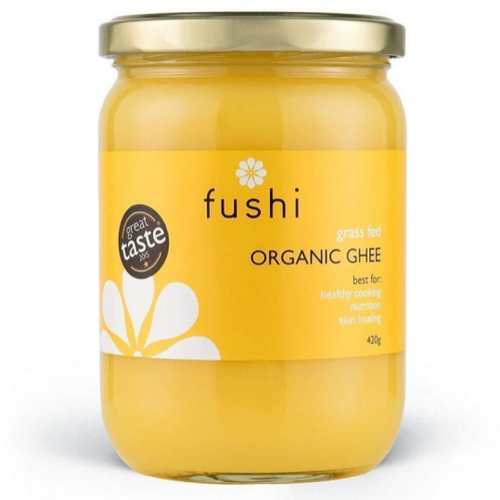 Fushi Organic Ghee (Clarified Grass Fed Butter)