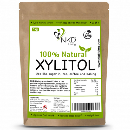 NKD Living 100% Natural Xylitol