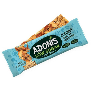 Adonis Natural Low Sugar Vanilla Nut Bar (Box of 16)