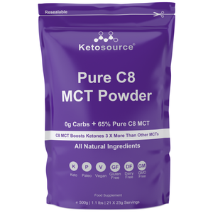 Ketosource Pure C8 MCT Powder