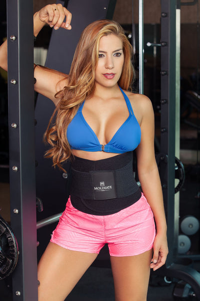 8069 Waist Cinchers Color Blue