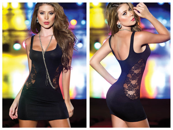 4203 Dress Color Black