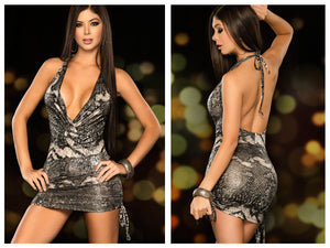 4233 Dress Color Silver