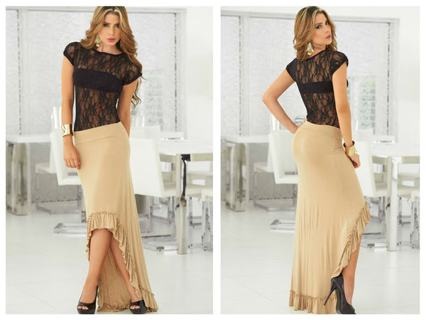 5704 Skirt Color Mocha