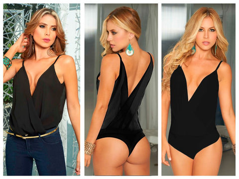 9792 Body-Blouse Color Black