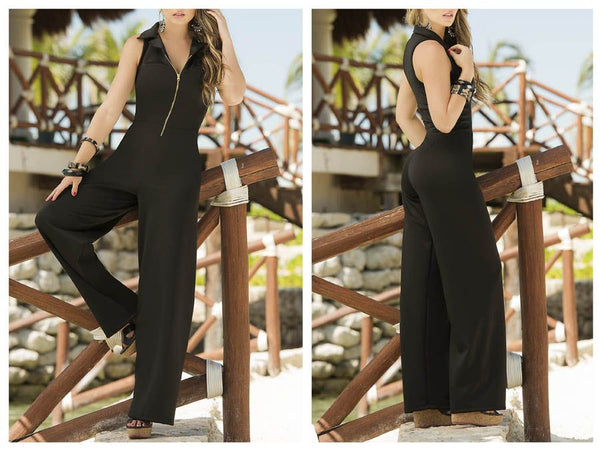 1841 Jumpsuit Color Black