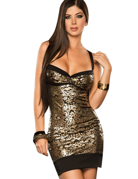 4238 Dress Color Gold