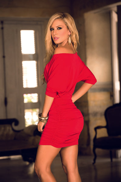 4749 Dress Color Red