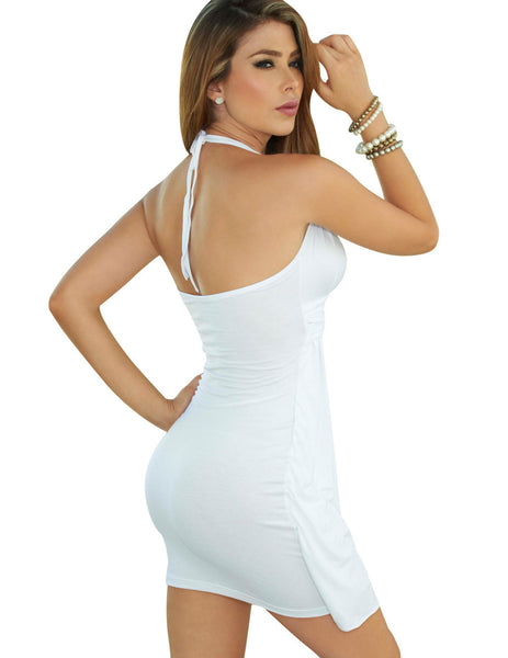 4778 Dress Color White