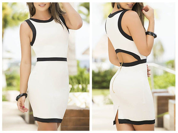 4908 Dress Color White