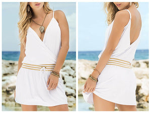7779 Dress Color White