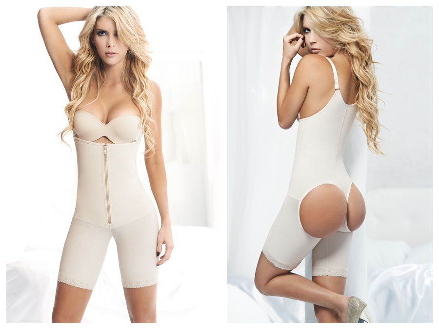 1017 Powernet Body Shaper Anny Color Beige