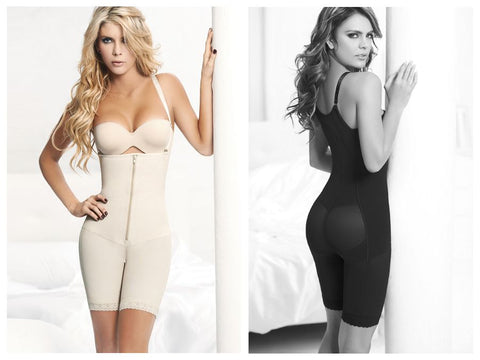 1018 Powernet Body Shaper Geraldine Color Beige