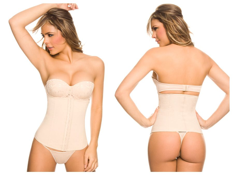 1024 Powernet Girdle with Hooks Color Beige